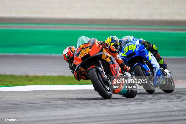 Pol Espargaro of Red Bull KTM Factory Racing in action during the MotoGP race of the Malaysian Motorcycle Grand Prix on November 03 at Sepang...