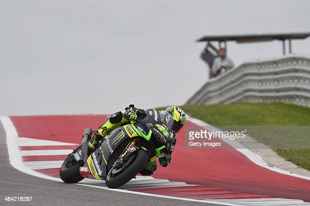 Pol Espargaro of Spain and Monster Yamaha Tech 3 rounds the bend during the MotoGp Red Bull US Grand Prix of The Americas Free Practice at Circuit of...