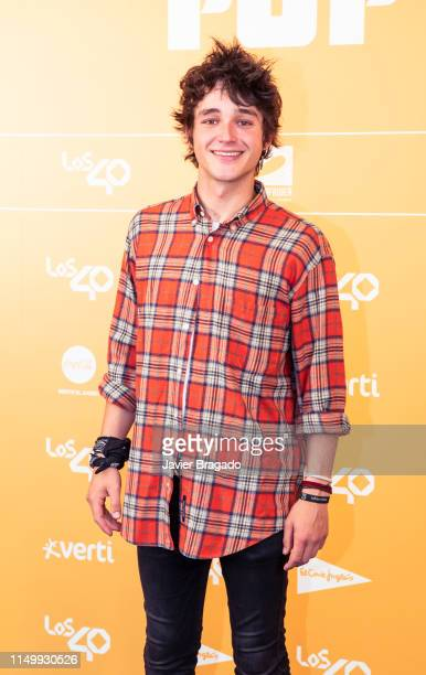 Pol Granch attends LOS40 Primavera Pop festival at Madrid WiZink Center on May 17 2019 in Madrid Spain