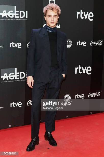 Pol Granch attends Odeon Awards 2020 at Royal Theater on January 20 2020 in Madrid Spain