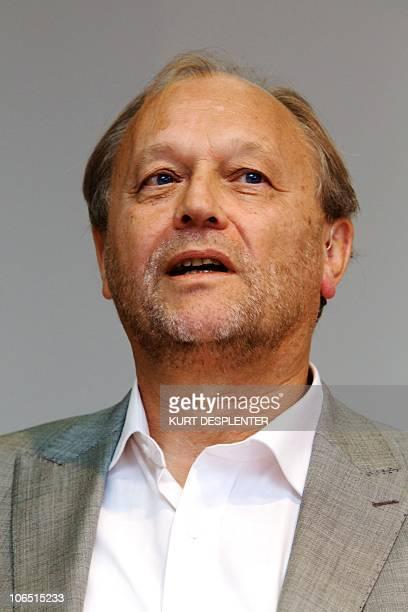 Pol Hauspie presents his book 'Priester muzikant piloot van LHwonderboy tot gewoonweg Pol' in Gent on October 2010 Hauspie is one of two cofounders...