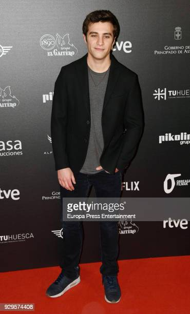 Pol Monen attends 'Bajo la Piel del Lobo' premiere at Callao cinema on March 8 2018 in Madrid Spain