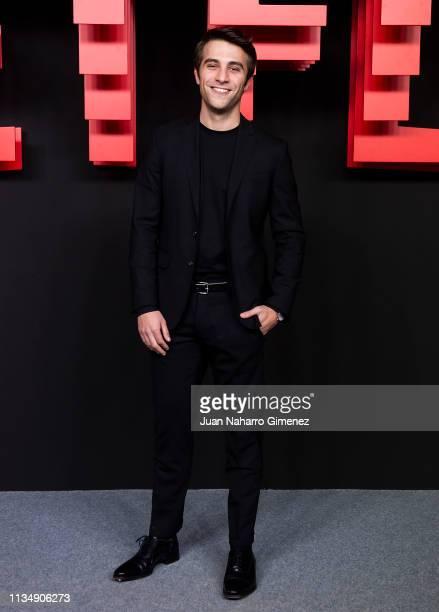Pol Monen attends the red carpet during the Netflix presentation party at the Invernadero del Palacio de Cristal de la Arganzuela on April 4 2019 in...
