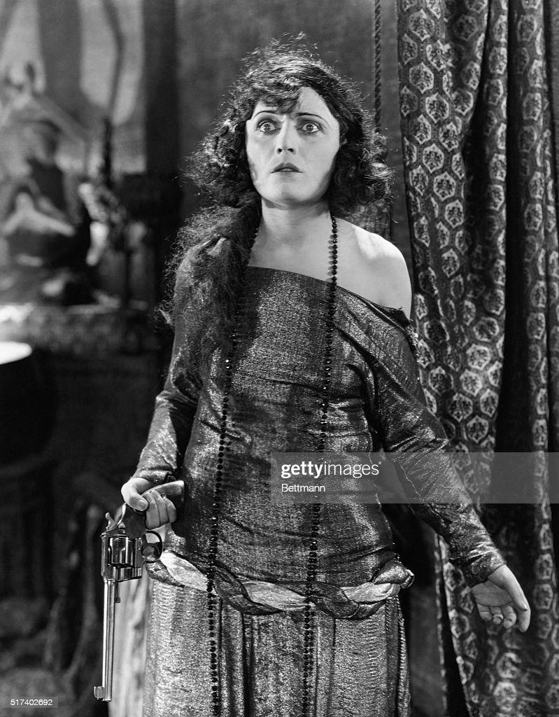 Pola Negri in Silent Movie The Cheat : News Photo