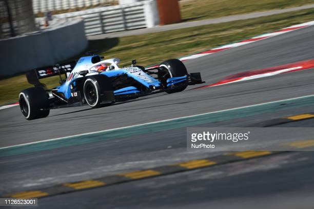 Poland driver Robert Kubica of English team RoKit Williams Racing driving his singleseater during Barcelona winter test in Catalunya Circuit in...