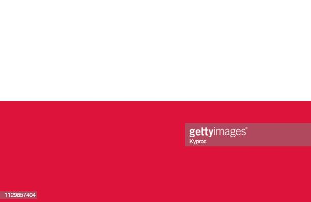 poland flag - poland stock pictures, royalty-free photos & images