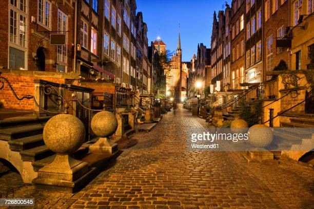 Poland, Gdansk, Mariacka Street at the Old Town