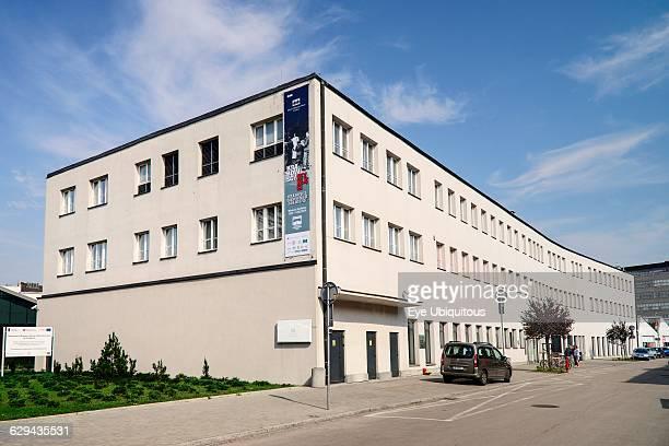 Poland Krakow Oskar Schindler Factory now a Museum exterior view
