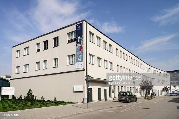 Poland, Krakow, Oskar Schindler Factory now a Museum, exterior view.