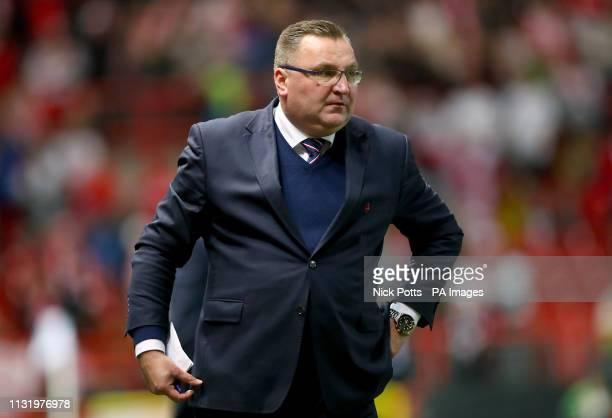 Poland manager Czeslaw Michniewicz