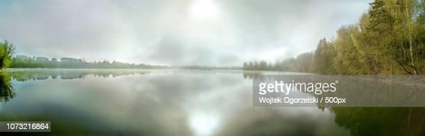 Poland Masuria, Sedranki Lake - sunrise