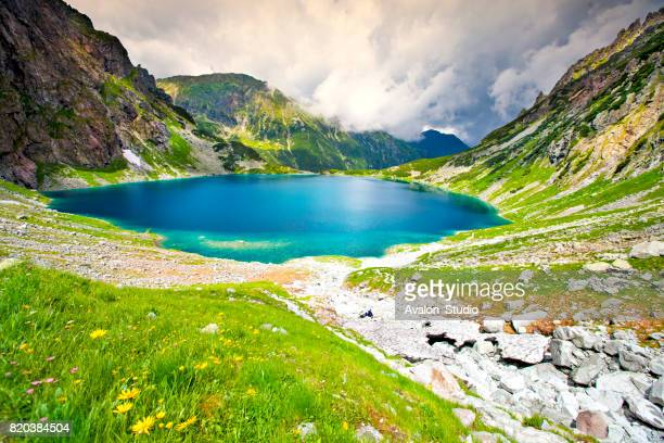 Poland mountain Black Pond