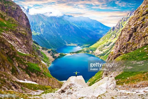 Poland mountain Marine Eye and Black Pond