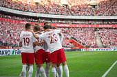 poland national football team during international