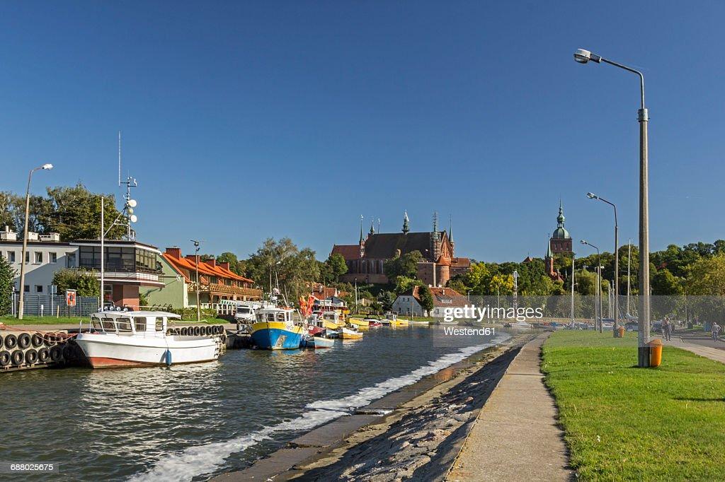 Poland, Warmia,-Masuria, Frombork marina : Stock Photo