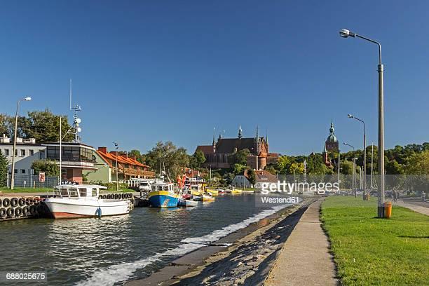 Poland, Warmia,-Masuria, Frombork marina