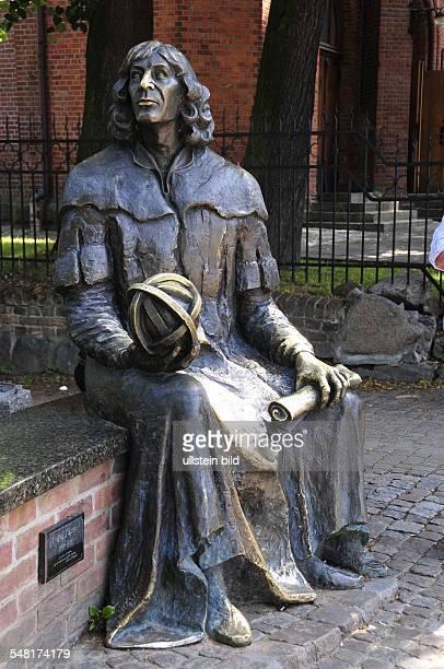 Poland Warminsko Mazurskie WarmiaMasuria Olsztyn memorial for the astronomer Nikolaus Kopernikus