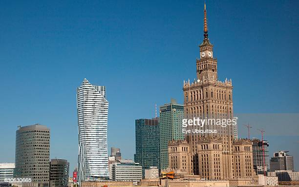Poland Warsaw Centrum Palace of Culture and Science a gift from Russia in 1955