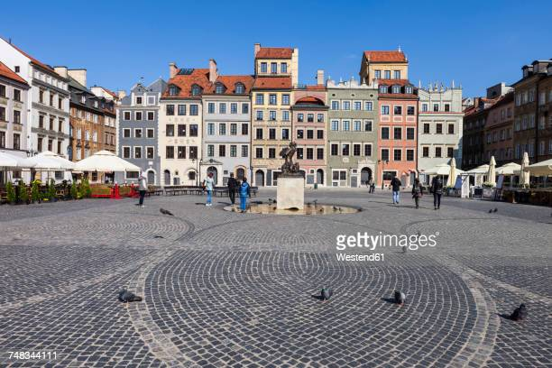 Poland, Warsaw, Old Town Square