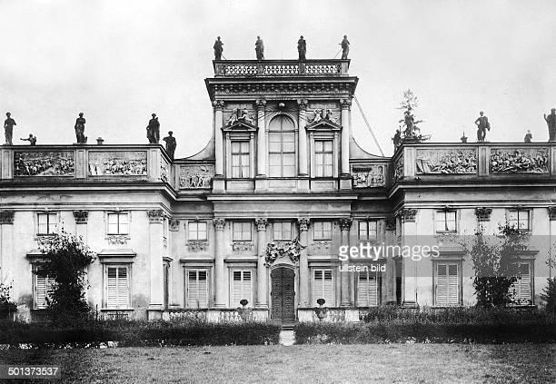 Wilanow Palace around 1915
