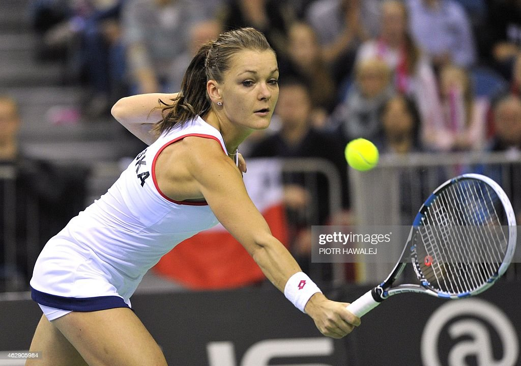 TENNIS-FEDCUP-POL-RUS : News Photo