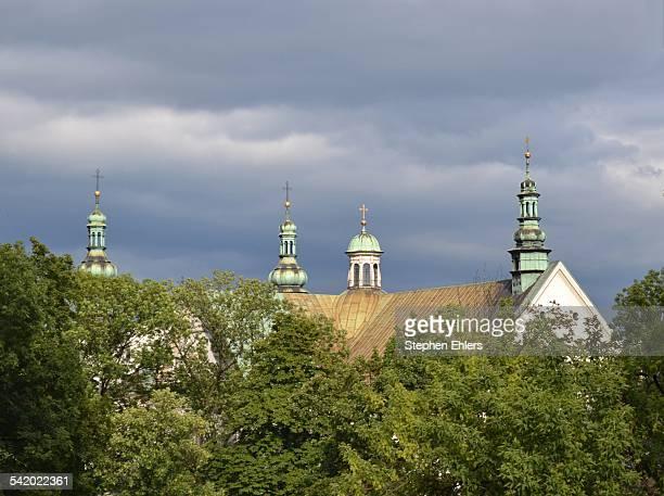 poland's cityscapes - kraków ストックフォトと画像