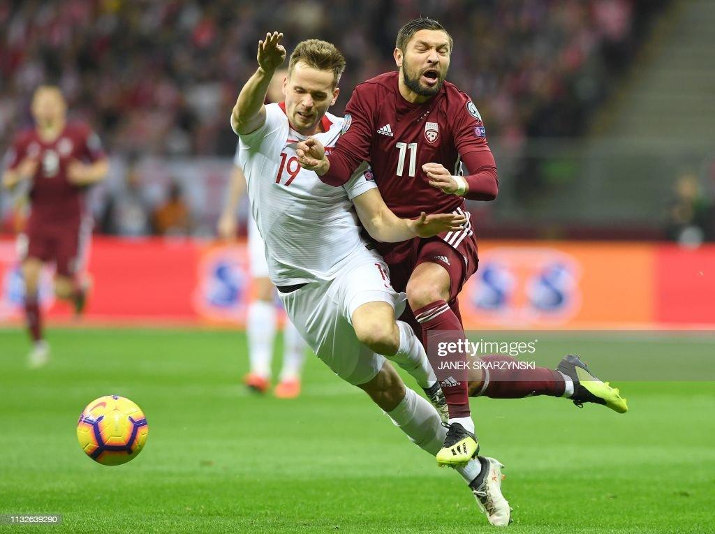 POL: Poland v Latvia - UEFA EURO 2020 Qualifier