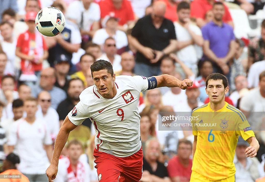 FBL-EURO-2016-MATCH29-UKR-POL : News Photo