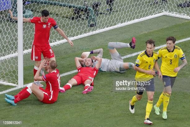 RUS: Sweden v Poland - UEFA Euro 2020: Group E