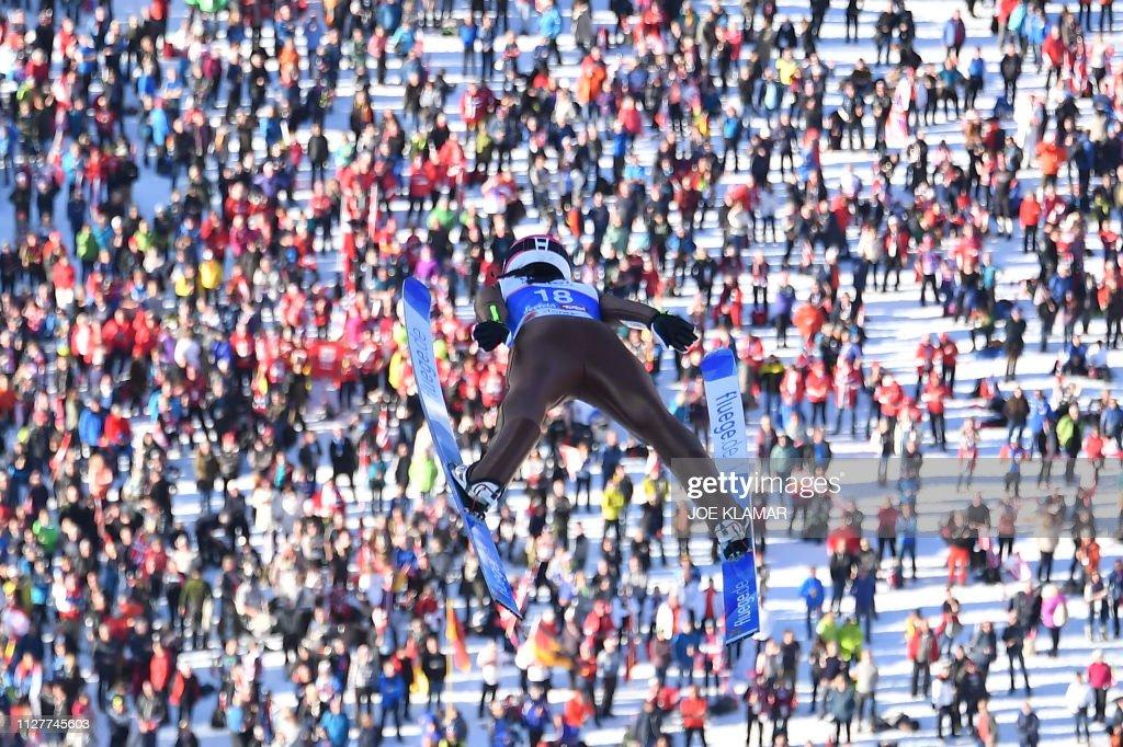 AUT: FIS Nordic World Ski Championships - Women's Ski Jumping HS109