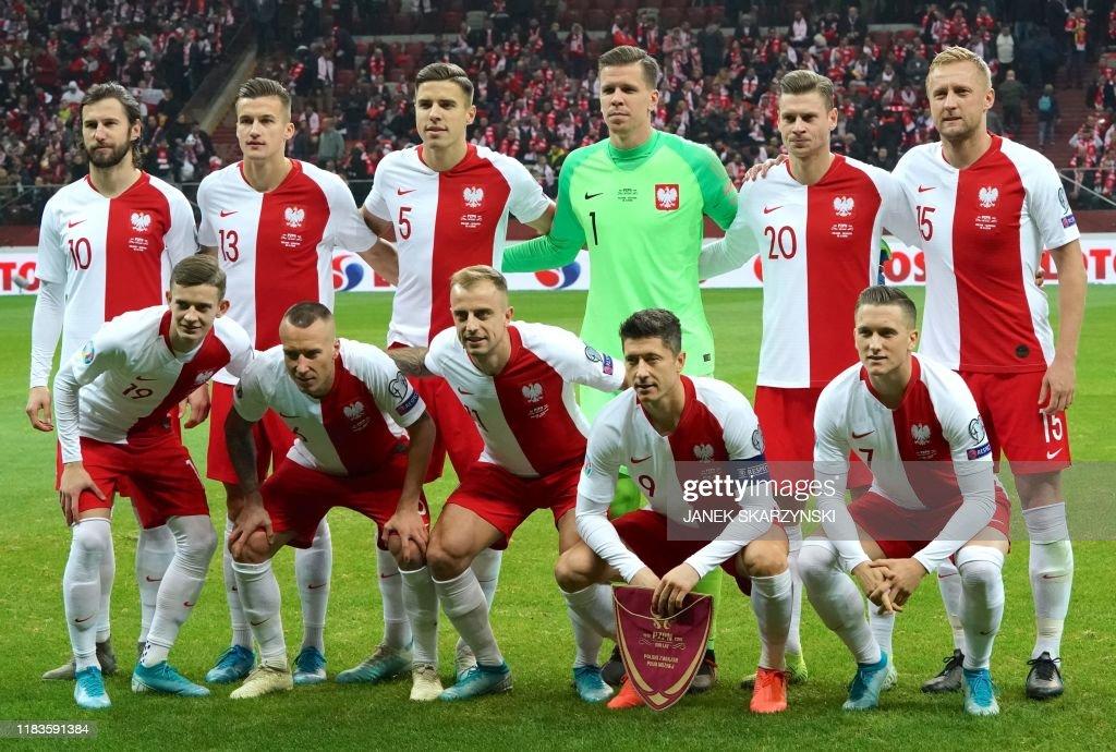 FBL-EURO-2020-QUALIFIER-POL-SLO : News Photo