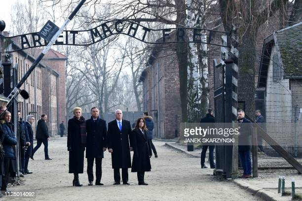 POL: U.S. Vice President Pence Visits Auschwitz Concentration Camp Memorial