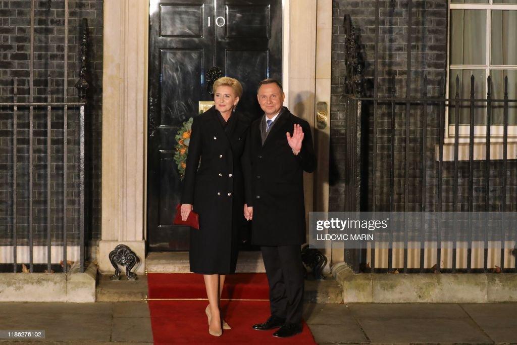 BRITAIN-NATO-SUMMIT-DEFENCE-DIPLOMACY : News Photo