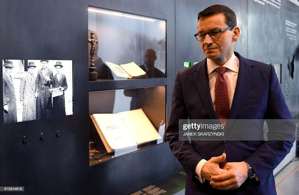 POLAND-HOLOCAUST-HISTORY-LAW-JEWS : News Photo