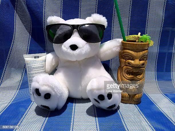 Polar Bear Beats the Heat