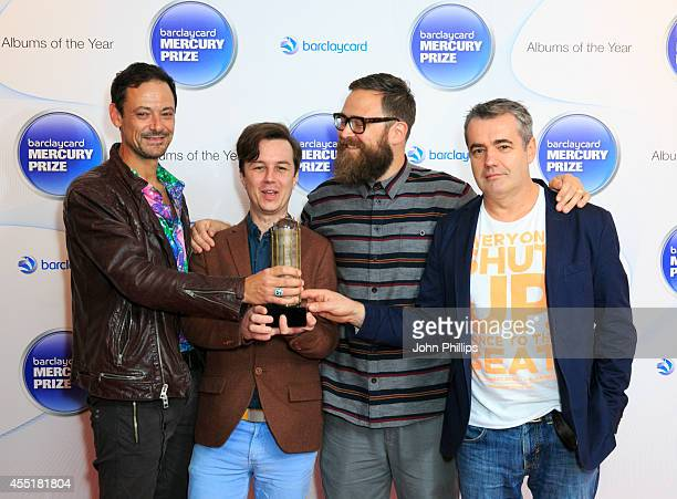 Polar Blood attends the Barclaycard Mercury Prize nominations launch at The Hospital Club on September 10 2014 in London England