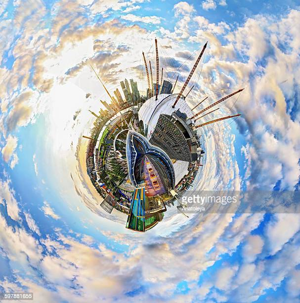 (Polar Panorama of the Millennium Dome