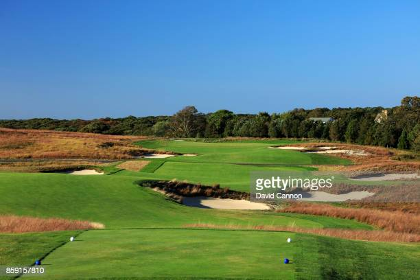 Polarising filter used on the camera in this image The 469 par 4 12th hole Tuckahoe at Shinnecock Hills Golf Club the host venue for the 2018 US Open...