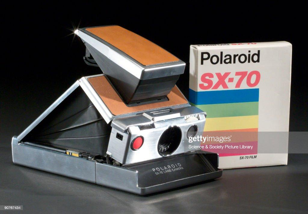 Polaroid SX70 model I land camera, c 1973.