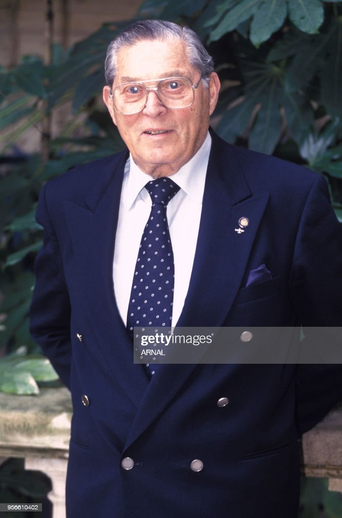 Portrait de Poldek Pfefferberg en 1994 : News Photo
