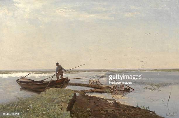 Polder Landscape, 1880s. Found in the collection of the Museum Boijmans Van Beuningen, Rotterdam.