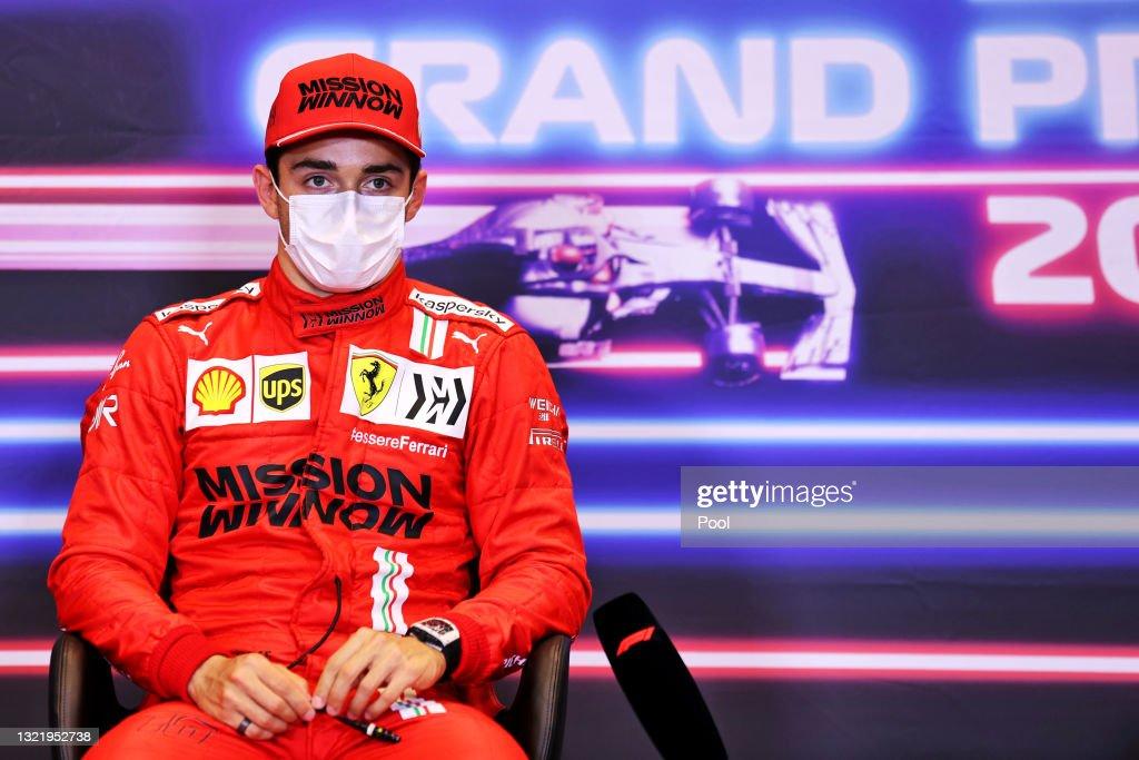 F1 Grand Prix of Azerbaijan - Qualifying : News Photo
