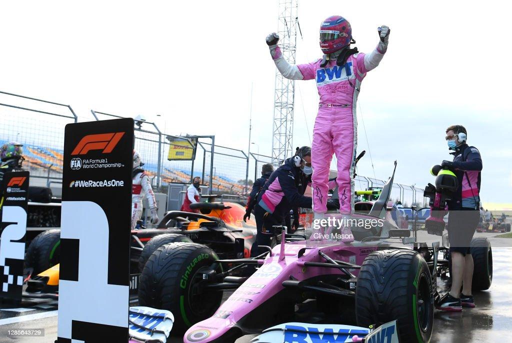 F1 Grand Prix of Turkey - Qualifying : News Photo