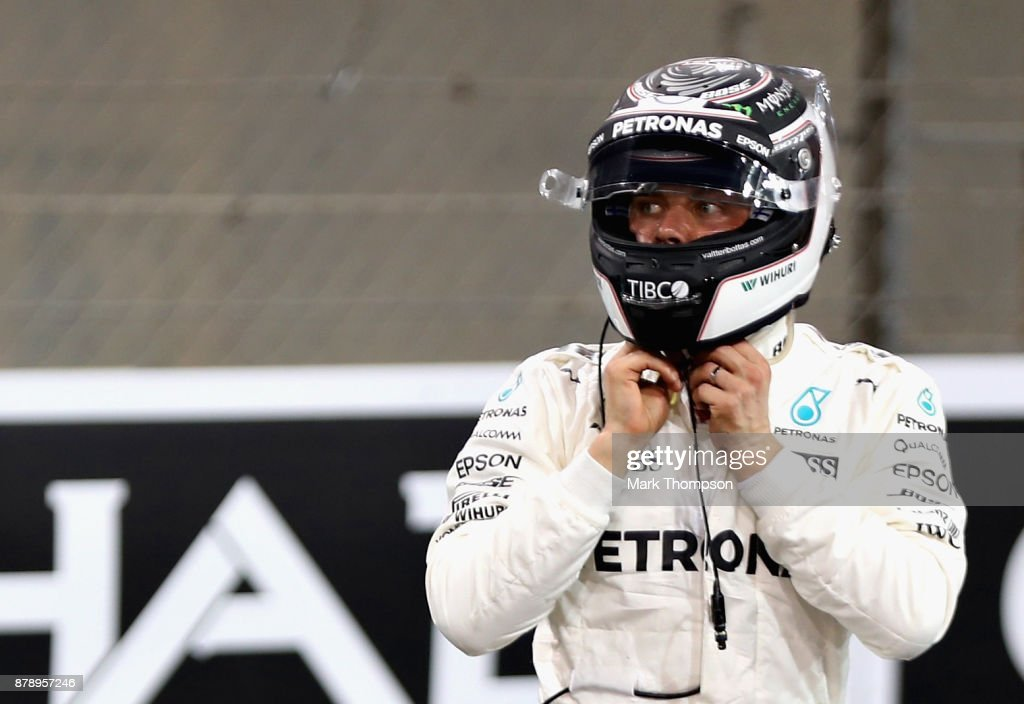 F1 Grand Prix of Abu Dhabi - Qualifying : News Photo