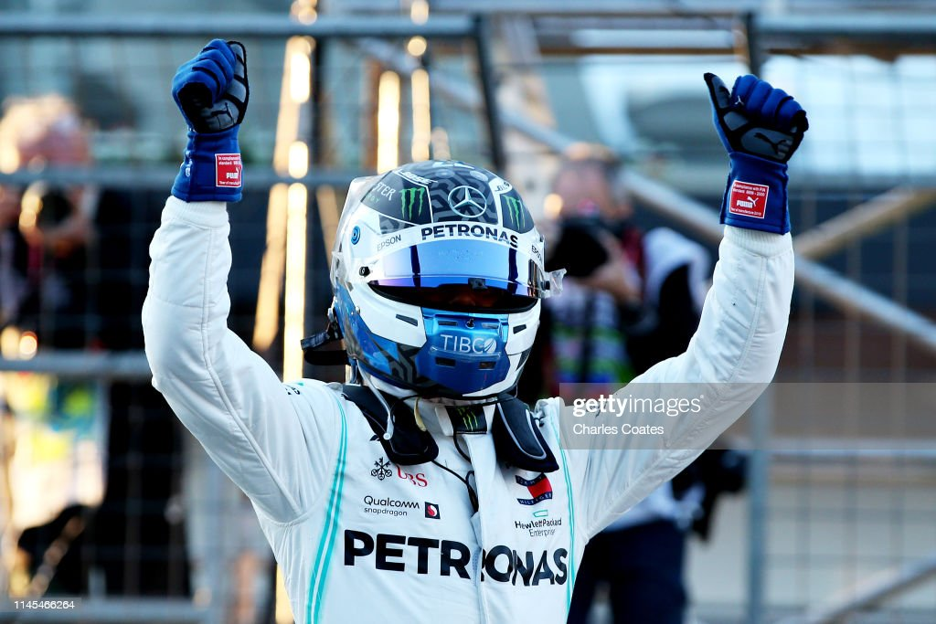 F1 Grand Prix of Azerbaijan - Qualifying : News Photo