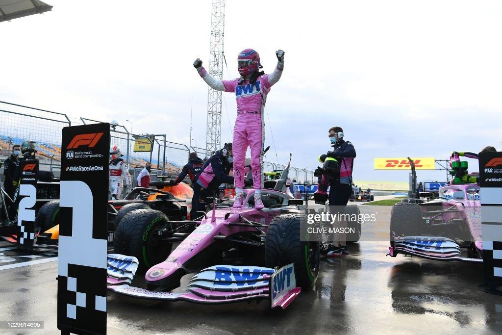 TOPSHOT-AUTO-PRIX-F1-TUR-QUALIFYING : News Photo