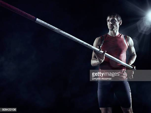 Pole vault Athleten
