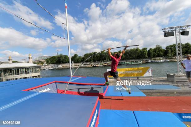 Pole Vault during the Olympics days for Paris 2024 Summer Olympics Games candidacy in Paris France on June 24 2017 On the 23rd and 24th of June the...