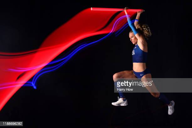 Pole vaulter Sandi Morris poses for a portrait during the Team USA Tokyo 2020 Olympics shoot on November 19, 2019 in West Hollywood, California.