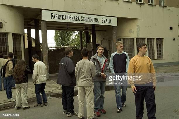Polen / KrakauDie Emaillewaren Fabrik von Oskar Schindler in der der deutsche Fabrikant Juden beschäftigte und über 1000 von ihnen das Leben rettete...